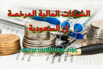 الشركات المالية المرخصة في السعودية