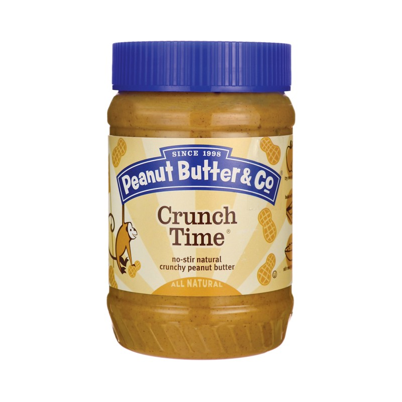 Crunch Peanut Butter Jar