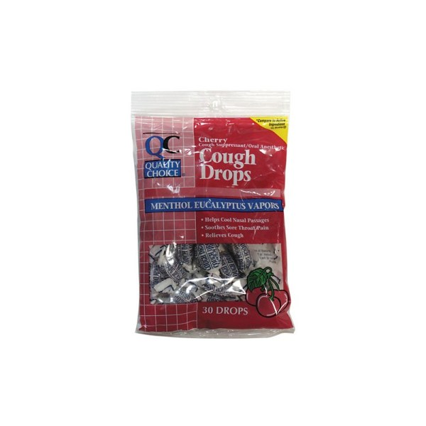 Cough Drops Cherry 30 Ct