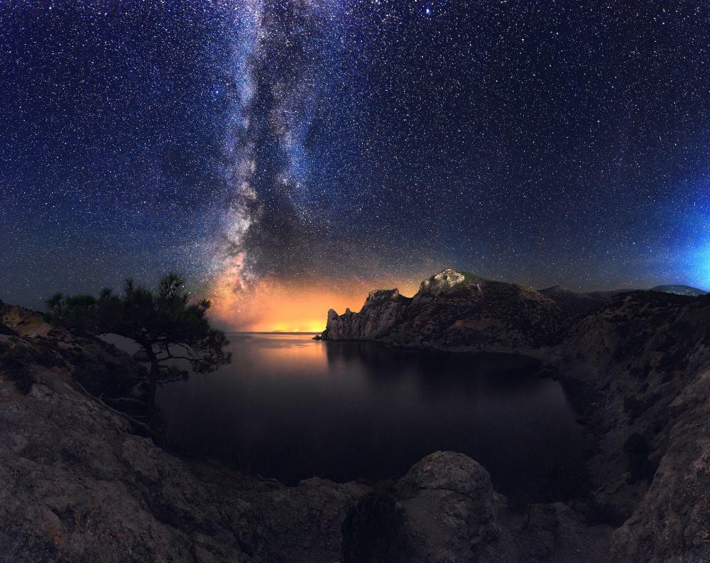 صورة لمجرة درب اللبانة