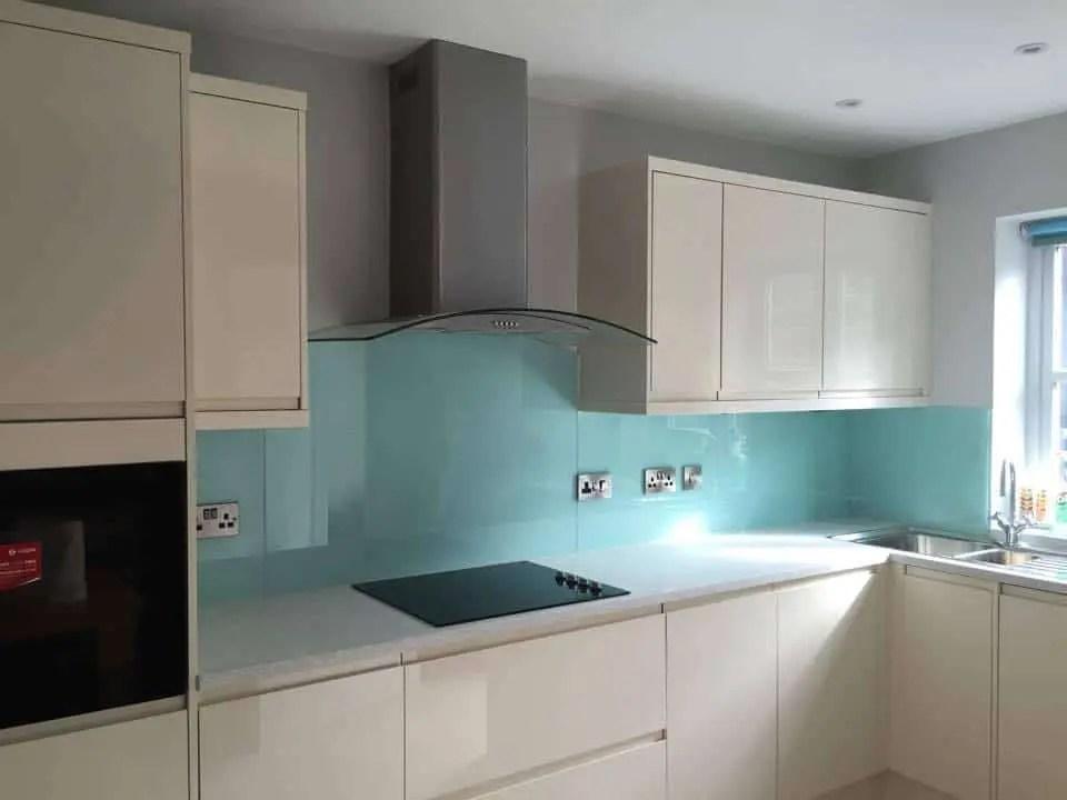 coloured glass kitchen splashbacks worktops