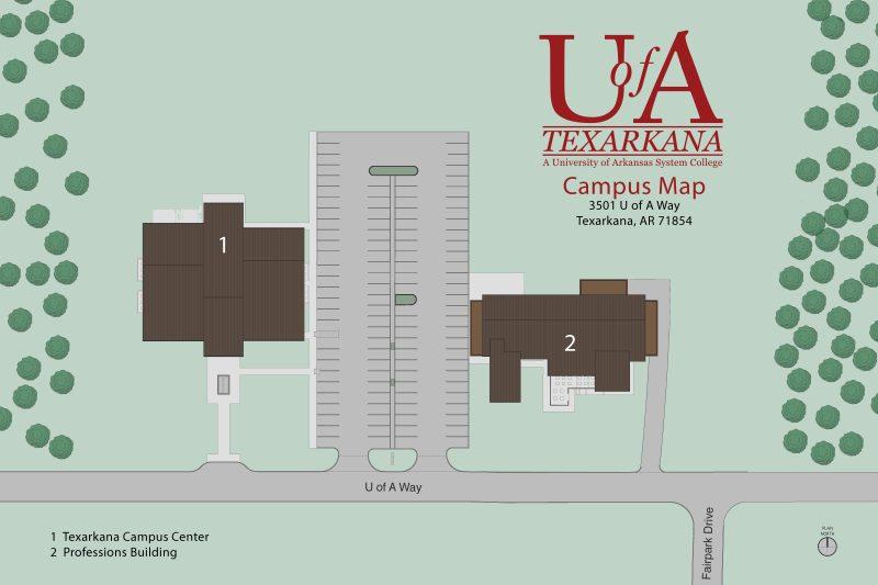Texarkana Campus Map