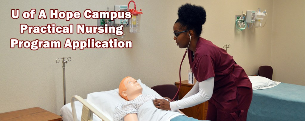 U of A Hope LPN Application