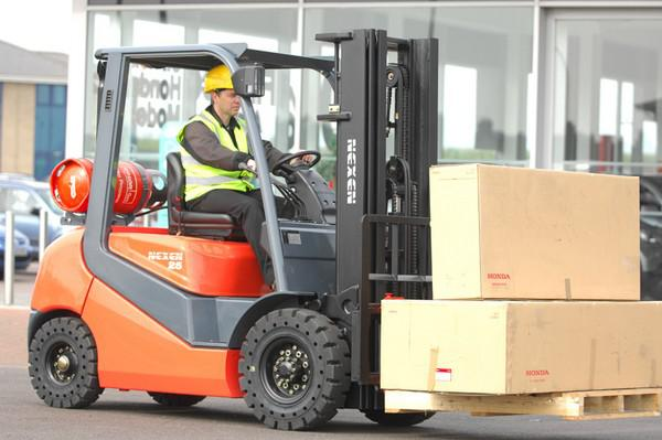 U of A Hope Forklift Training
