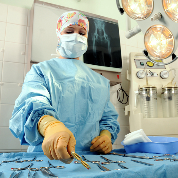 surgical scrub technician
