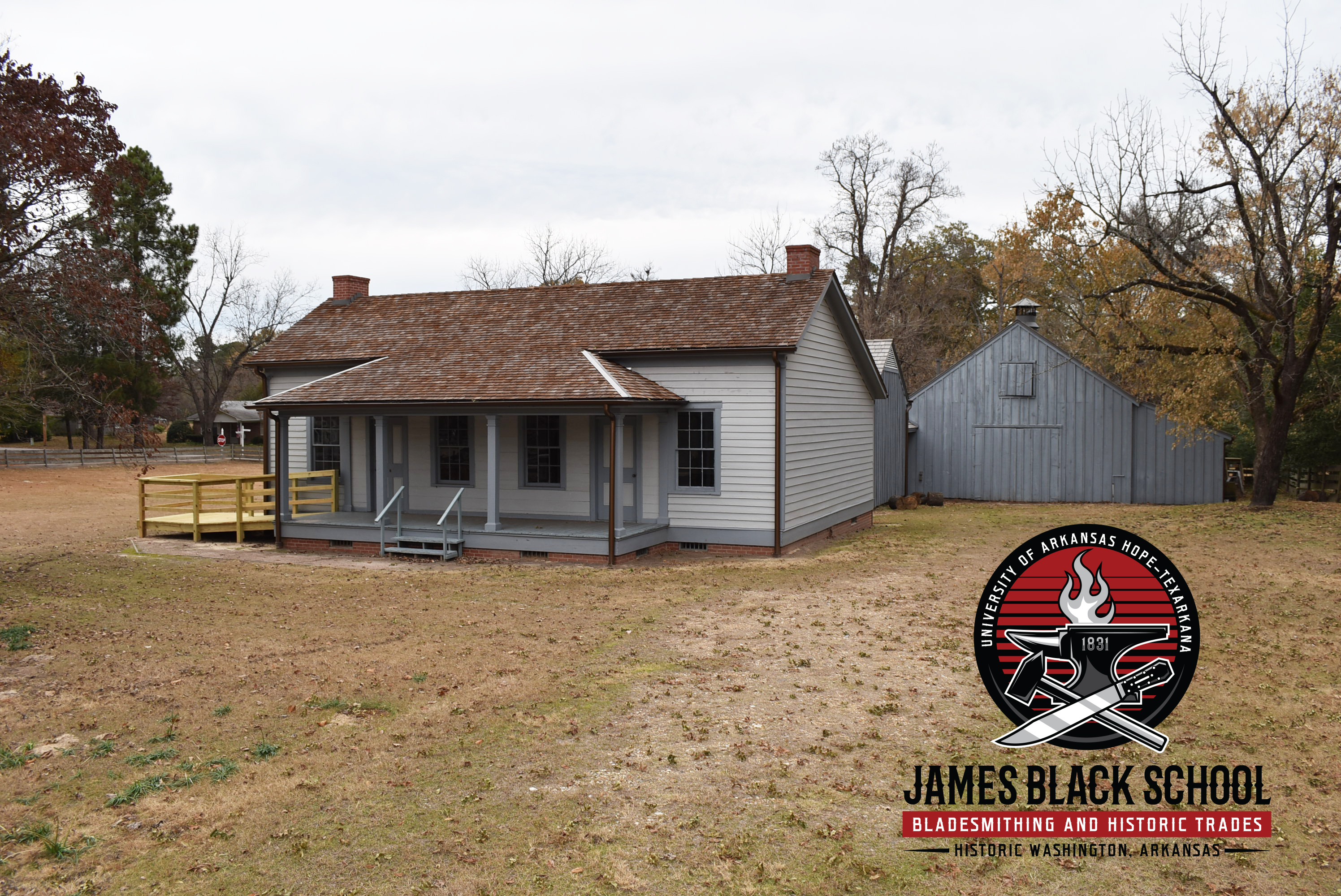 The University of Arkansas Hope-Texarkana James Black School of Bladesmithing and Historic Trades
