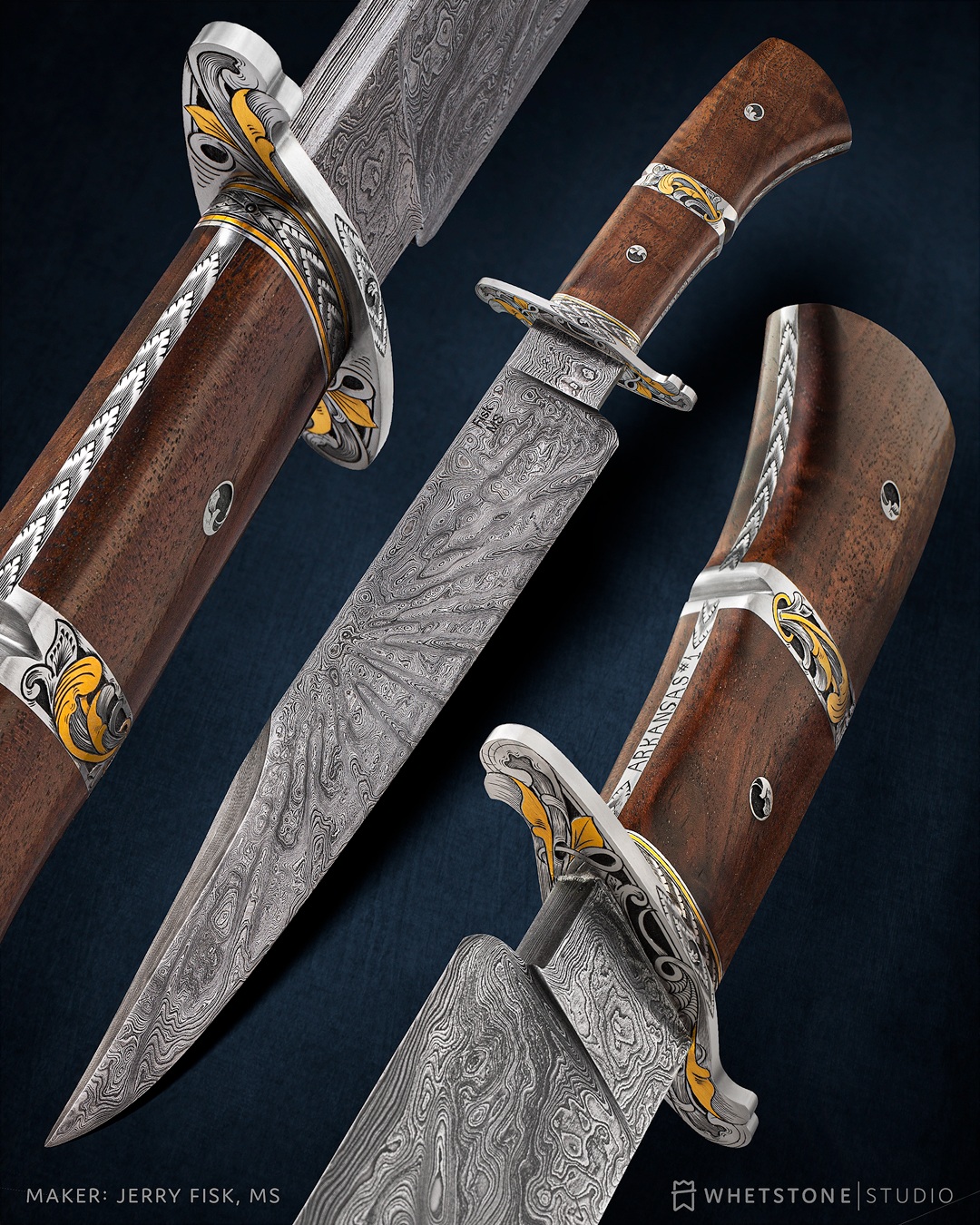 Arkansas #1 Bowie Knife