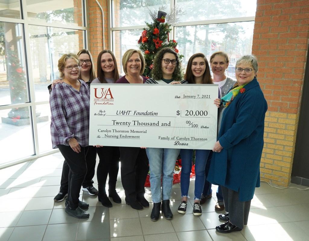 Carolyn Thornton Memorial Nursing Endowed Scholarship