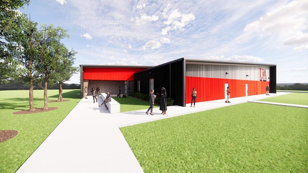 New UA Texarkana Facility Rendering