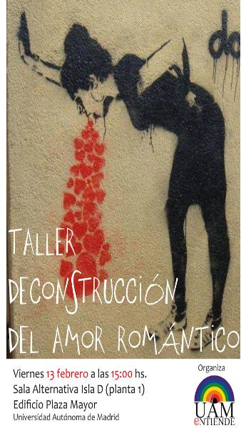 Cartel _Taller decontrucción del amor romántico