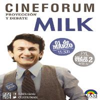 Cartel_Cinefórum_proyección y debate_Milk