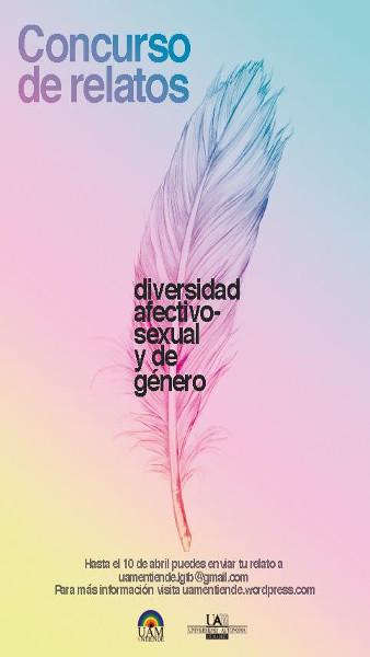 Cartel_Concurso de relatos_sobre la diversidad afectivo-sexual y de género