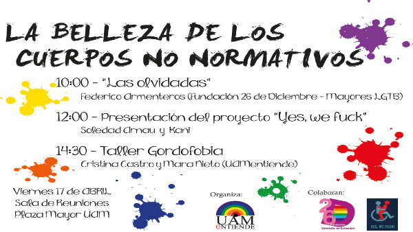 Cartel_Jornadas_ Belleza de los cuerpos no normativos