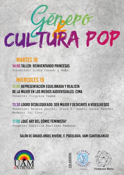Genero y Cultura Pop_cartel