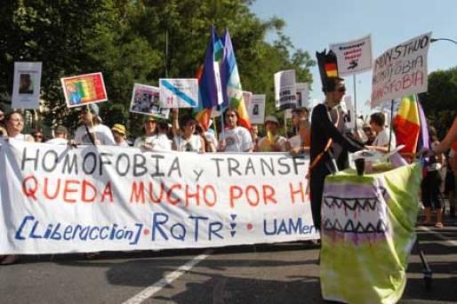 Orgullo 2005: ¡Avanzamos! Ahora los/las transexuales