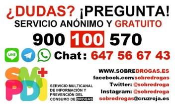 ¿dudas ¡Pregunta! servicio anónimo y gratuito cruz roja