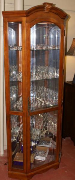 Curio Cabinets  Display Cabinets