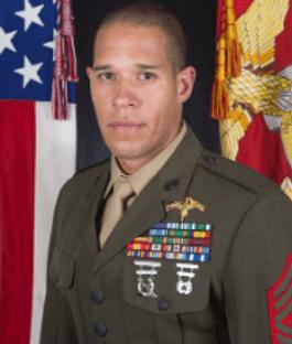 U.S. Marine Corps (Raider) Gunnery Sergeant Danny Draher.