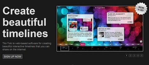 Сервіси для створення інтерактивних таймлайнів