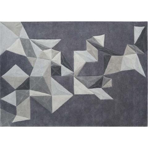 tapis pliages de toulemonde bochart 2 tailles gris