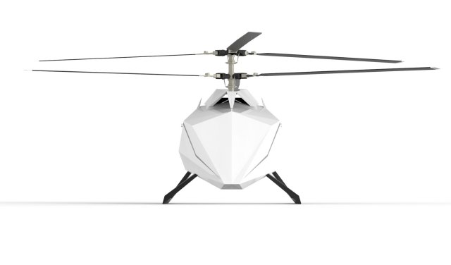 Revolutionary Coaxial Drone with Diesel Piston Engine