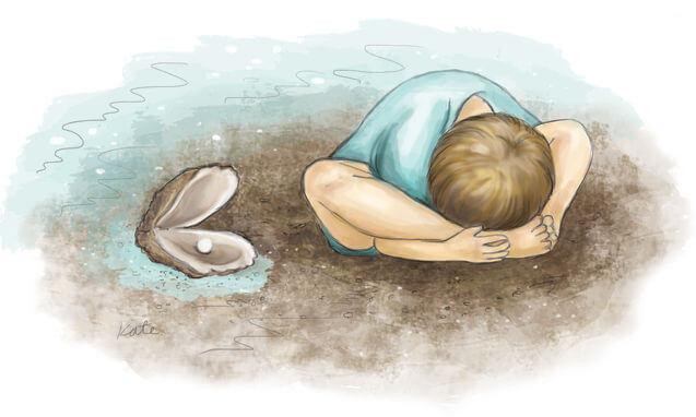Yoga for children: oyster