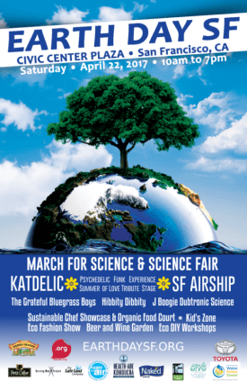 Earth Day SF Poster