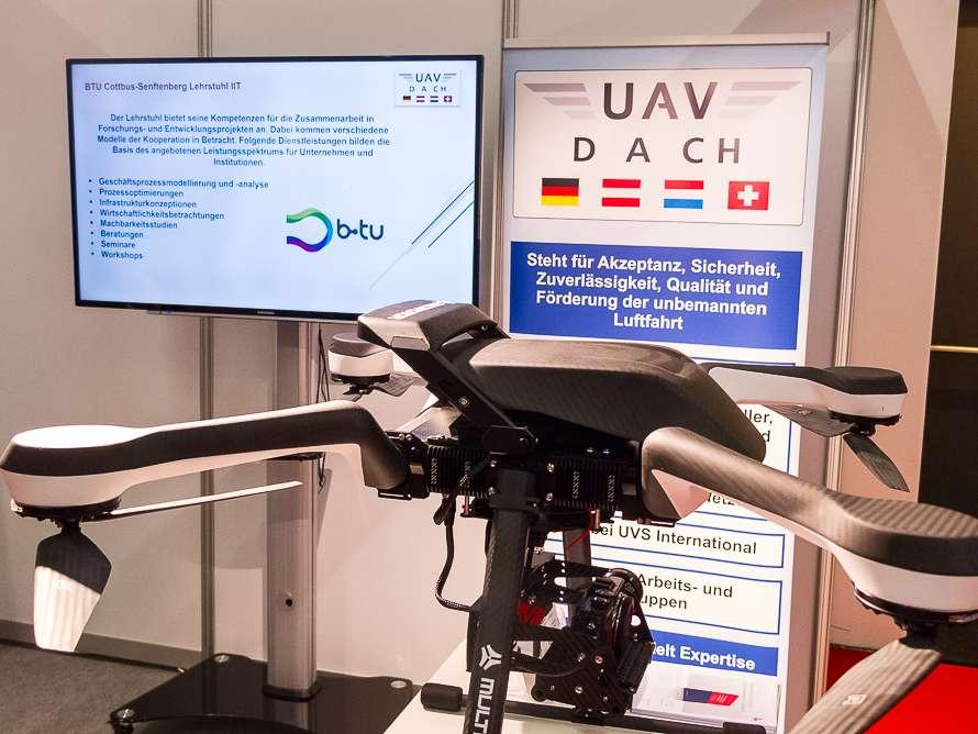 Bild Messestand UAV DACH