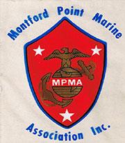 Montford Point Marine Association logo