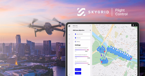 SkyGrid Launches SkyGrid Flight Control All-in-One Drone App to Automate Every Phase of Flight
