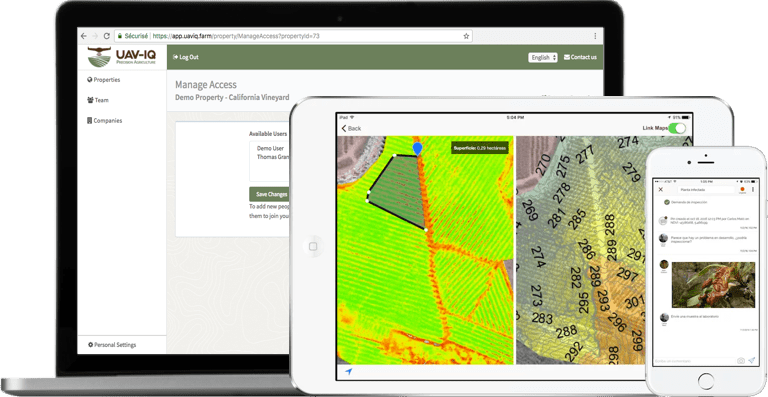 precision agriculture mobile app