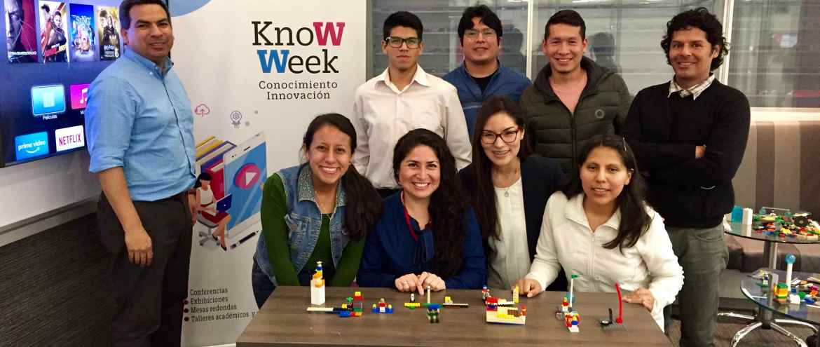 Design Thinking + LEGO – KnoWeek UPC