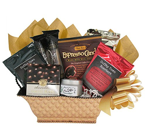 Gourmet Coffee Christmas Gift Basket For Men And Women