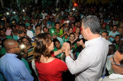 Rui confirma apoio a Vera durante bate papo (Foto: Valdir Santos/Ubatã Notícias)