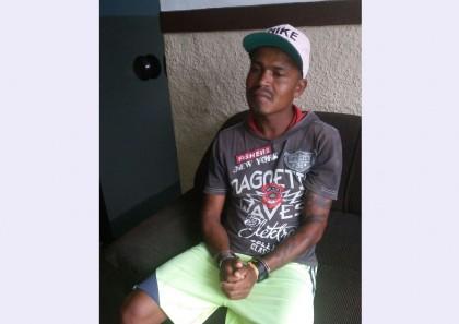 Homem foi preso no distrito de Laje do Banco (Foto: Ubatã Notícias)