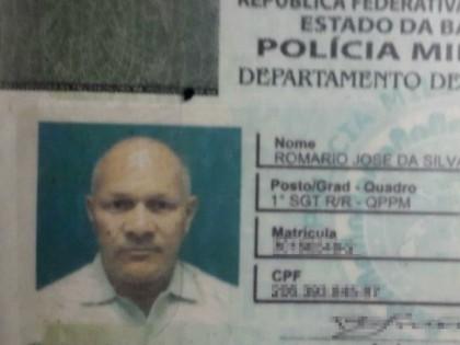 Romário José da Silva trabalhou na Polícia Militar por mais de 30 anos  (Foto: Divulgação/PM)