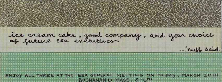 ESA General Meeting 2015