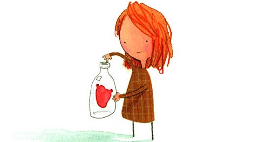 The Kids' Section: Oliver Jeffers' The Heart and the Bottle