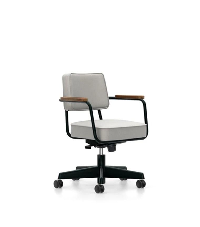 vitra office chair price kneeling design fauteuil direction pivotant jean prouve