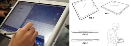 Apple Table Mactablet