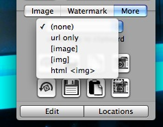 mas opciones de imagewell