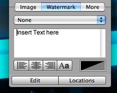 agregarle una imagen de agua a la imagen