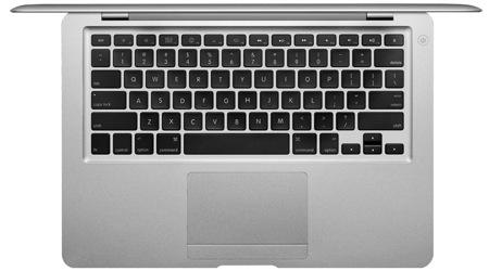 Teclado de la macbook air