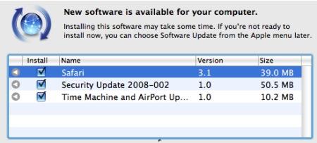 Actualizacion de seguridad Apple 2008-002