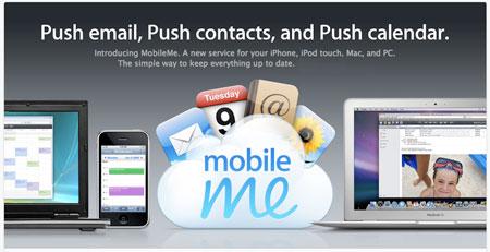 MobileME demasiado Push