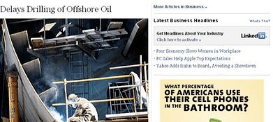 Linkedin en el New York Times