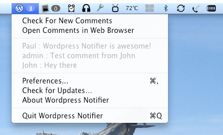 wordpress-notifier