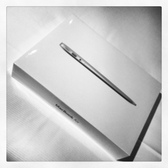 caja apple macbook air instagram