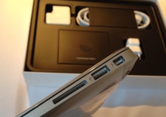 thunderbold en apple macbook air