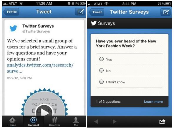 encuestas en twitter investigacion de mercado